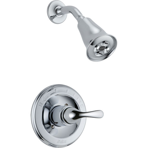 Delta Classic Chrome Single Handle Shower Only Faucet Trim Kit 555876