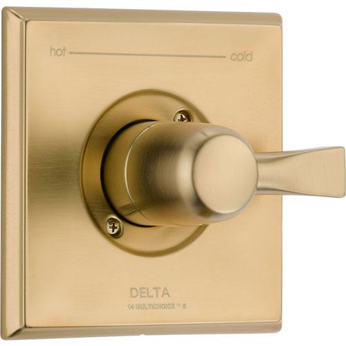 Delta Dryden Champagne Bronze Single Handle Shower Control Valve Trim Kit 563250