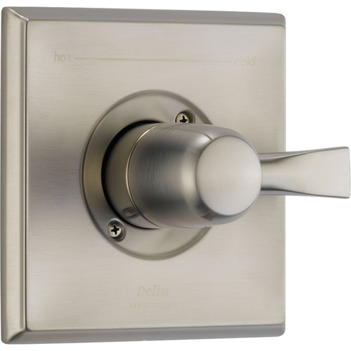 Delta Dryden Stainless Steel Finish Single Handle Shower Control w/ Valve D015V