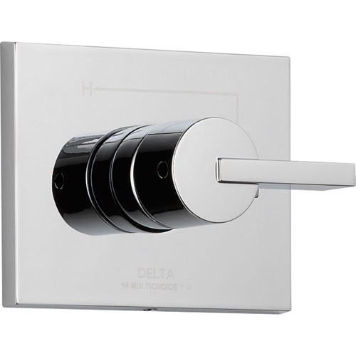 Delta Vero Modern Chrome Single Handle Shower Control Includes Rough Valve D016V