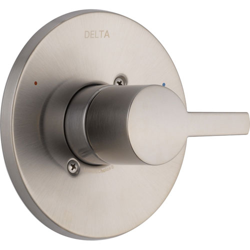 Delta Compel Stainless Steel Finish Single Handle Shower Control Trim 584032