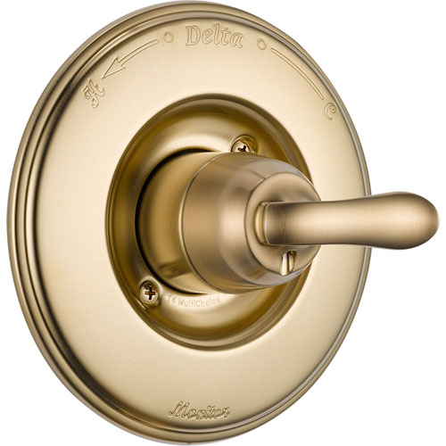 Delta Linden Champagne Bronze Single Handle Shower Control with Valve D034V