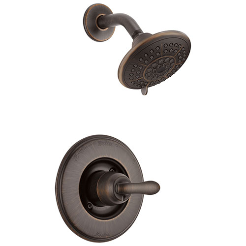 Delta Linden Venetian Bronze Single Handle Shower Only Faucet Trim Kit 555598