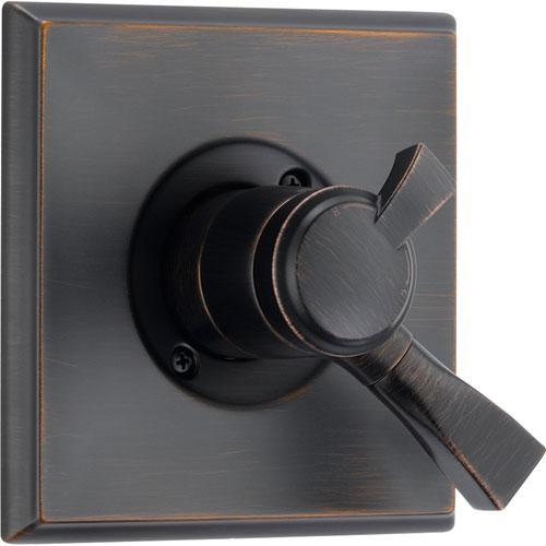 Delta Dryden Temperature & Volume Control Venetian Bronze Shower w/ Valve D118V