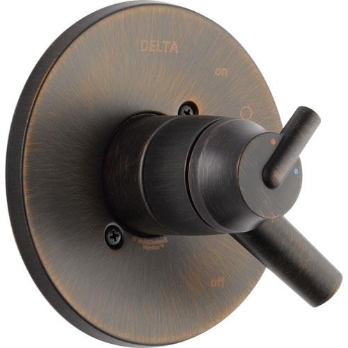 Delta Trinsic Two Handle Venetian Bronze Shower Control, Includes Valve D089V