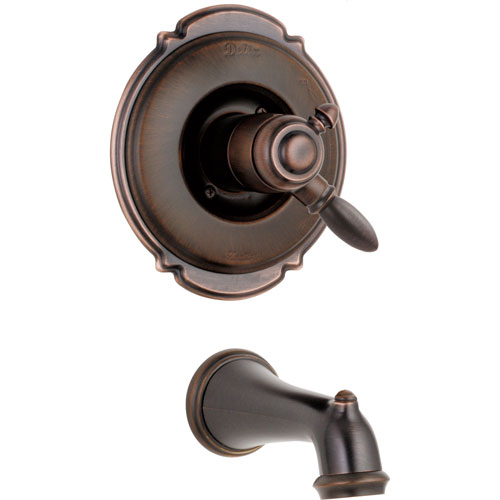 Delta Victorian Venetian Bronze Temp/Volume Control Tub Filler Trim Kit 361461