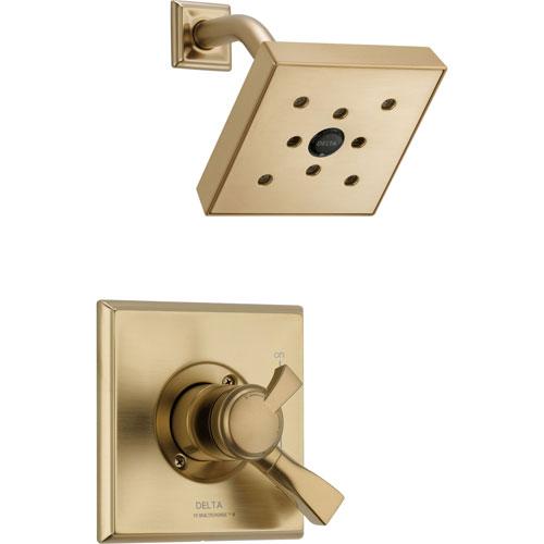 Delta Dryden Champagne Bronze Temp/Volume Control Shower Faucet with Valve D680V