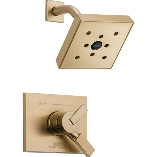 Delta Vero Champagne Bronze Temp/Volume Control Shower Faucet with Valve D753V