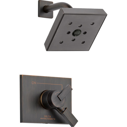 Delta Vero Venetian Bronze Temp/Volume Control Shower Faucet Trim Kit 563344