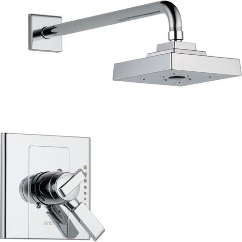 Delta Arzo Chrome Temp/Volume Dual Control Shower Only Faucet Trim Kit 550114