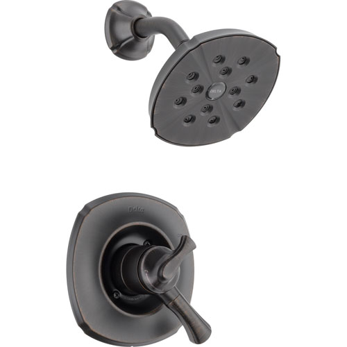 Delta Addison Dual Control Temp/Volume Venetian Bronze Shower Trim Kit 476416