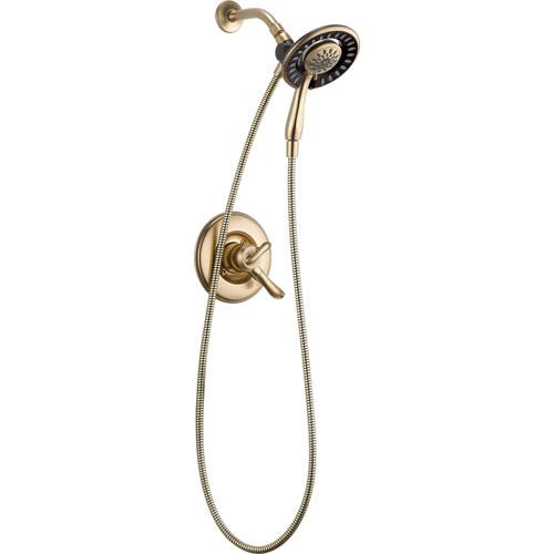 Delta Linden 2 Control Champagne Bronze Handheld & Shower Head with Valve D974V
