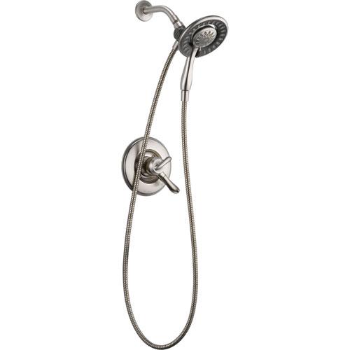 Delta Linden 2 Handle Stainless Steel Finish Handheld & Shower Head Trim 555615