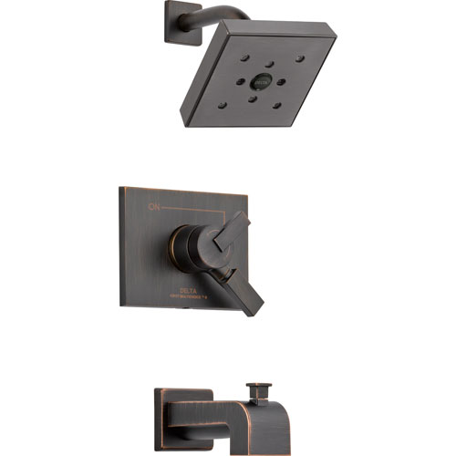 Delta Vero Venetian Bronze Two Control Tub and Shower Faucet with Valve D383V