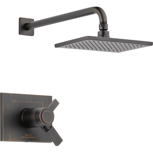 Delta Vero Venetian Bronze Modern Thermostatic Shower Control with Valve D808V