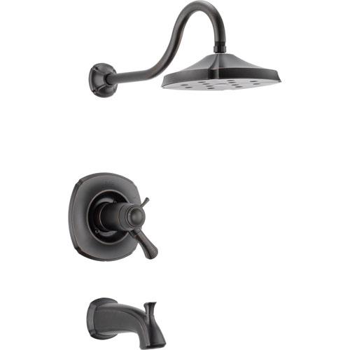 Delta Addison 1-Handle Venetian Bronze Thermostatic Tub/Shower with Valve D544V