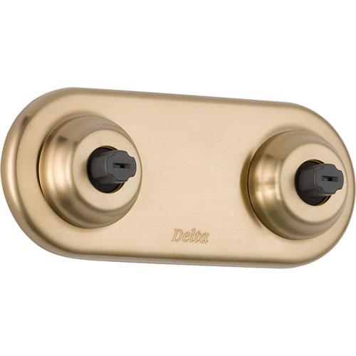 Delta Innovations Champagne Bronze H2Okinetic Shower Body Spray with Valve D944V