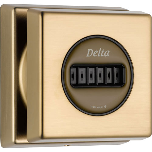 Delta Square Classic H2Okinetic Champagne Bronze Body Spray with Valve D957V