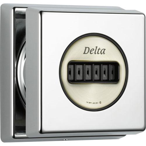 Delta Square Classic H2Okinetic Chrome Finish Body Spray, Includes Valve D956V