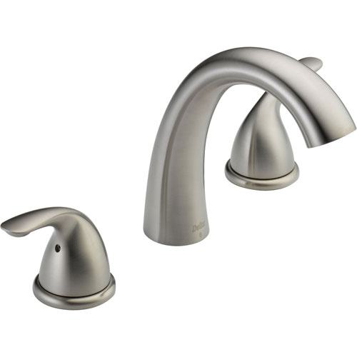 Delta Classic Deck Mount Stainless Steel Finish Roman Tub Faucet Trim 593565
