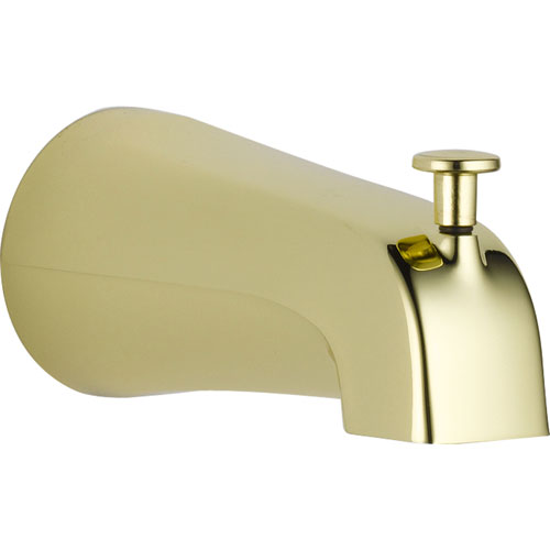 Delta Pull-up Diverter Tub Spout in Polished Brass 561302