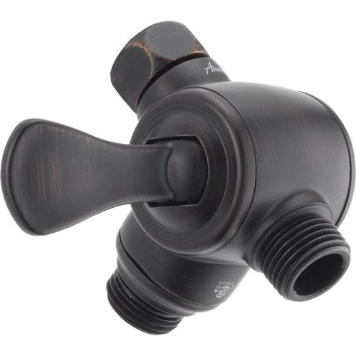 Delta 3-Way Shower Arm Diverter for Handshower in Venetian Bronze 561348