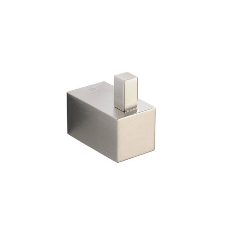 Fresca Ottimo Wall Mounted Brushed Nickel Robe or Towel Hook