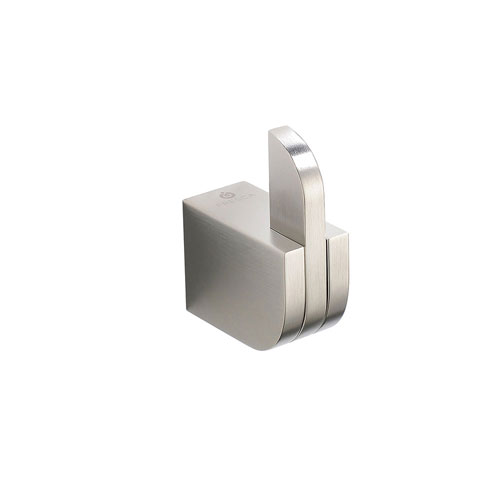Fresca Solido Wall Mounted Brushed Nickel Robe or Towel Hook