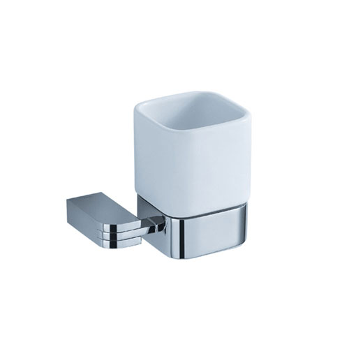 Fresca Solido Bathroom Accessory, Wall Chrome Toothbrush Holder