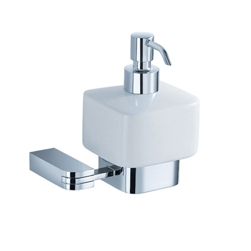 Fresca Solido Wall Mounted Soap / Lotion Dispenser Chrome
