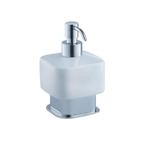 Fresca Solido Free Standing Soap / Lotion Dispenser Chrome