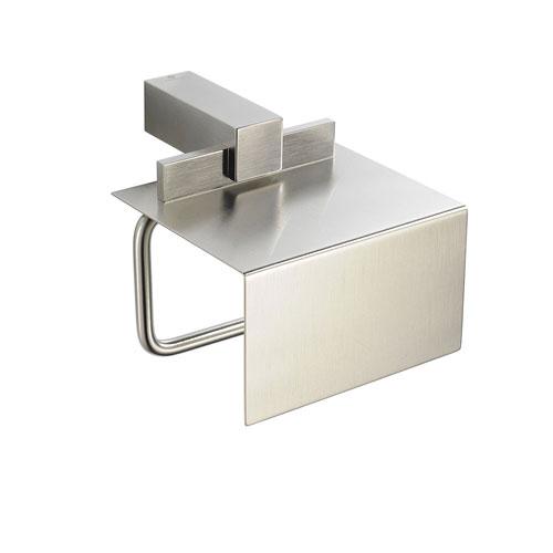 Fresca Ellite Modern Bathroom Brushed Nickel Toilet Paper Holder