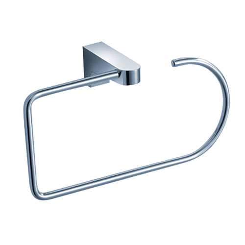 Fresca Generoso Modern Wall Mount Chrome Bath Hand Towel Ring