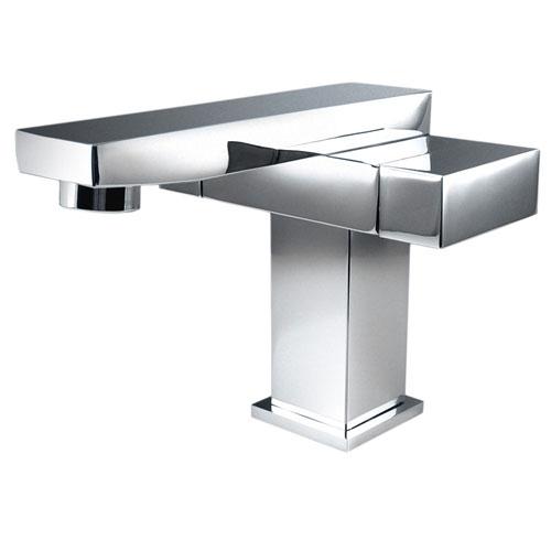 Fresca Orba Modern Single Hole Mount Bathroom Vanity Faucet Chrome