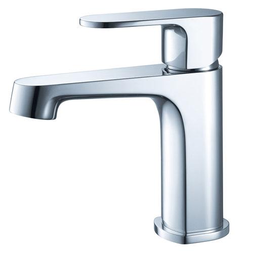 Fresca Gravina Single Handle 1 Hole Chrome Bathroom Vanity Faucet