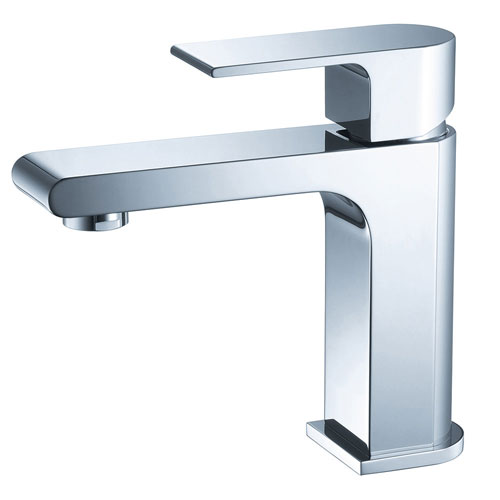 Fresca Allaro Single Lever Handle 1 Hole Bathroom Vanity Sink Faucet