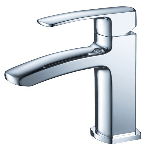 Fresca Fiora Chrome Single Handle Bathroom Vanity Sink Faucet