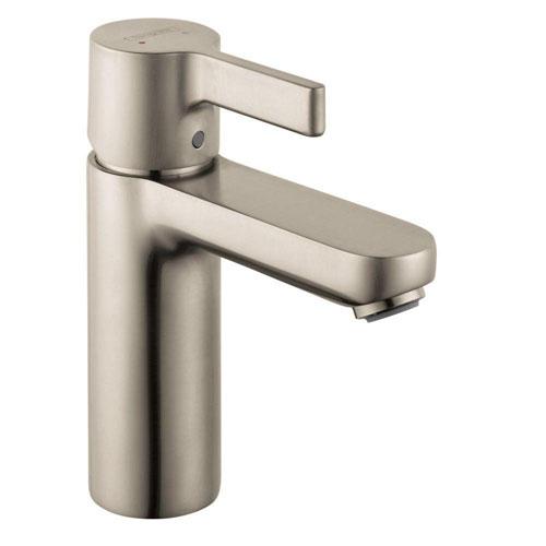 HansGrohe Metris S Single Hole 1-Handle Mid Arc Bathroom Faucet in Brushed Nickel 257889