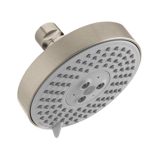 HansGrohe Raindance S 120 AIR 3-Spray 5 inch Showerhead in Brushed Nickel 464746