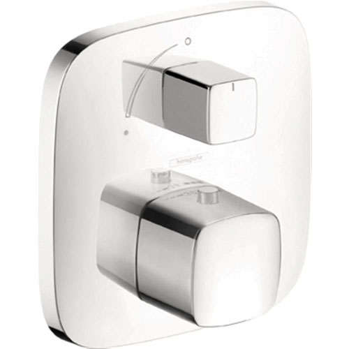 HansGrohe PuraVida Thermostatic Trim with Volume Control in Chrome 513021