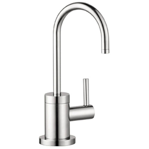 HansGrohe Talis S Lever Drinking Fountain Faucet in Steel Optik 514127