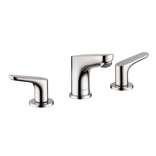 HansGrohe Focus 100 8 inch Widespread 2-Handle Bathroom Faucet in Chrome 575395