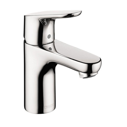HansGrohe Focus 100 Single Hole 1-Handle Low-Arc Bathroom Faucet in Chrome 575400