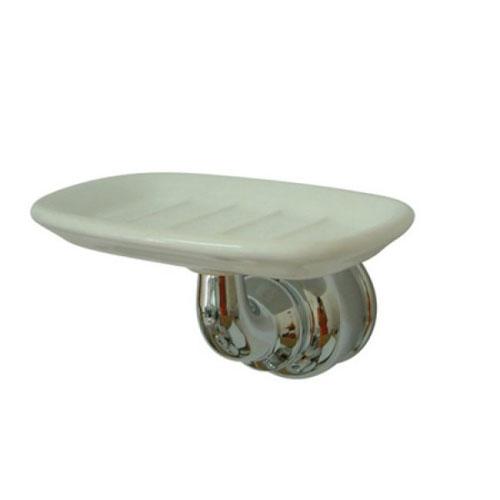 Kingston Brass Chrome Magellan wall mount soap dish holder BA605C