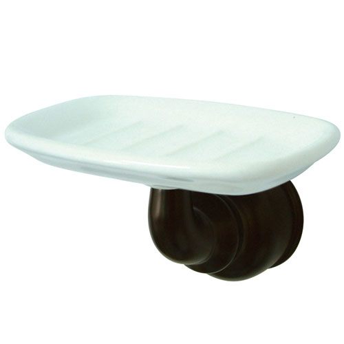 Kingston Brass Oil Rubbed Bronze Magellan wall mount soap dish holder BA605ORB