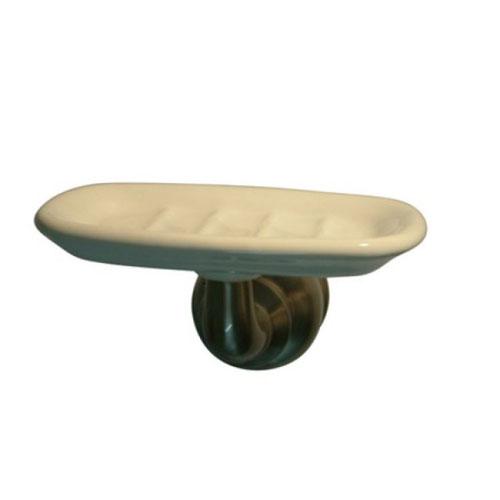 Kingston Brass Satin Nickel Magellan wall mount soap dish holder BA605SN