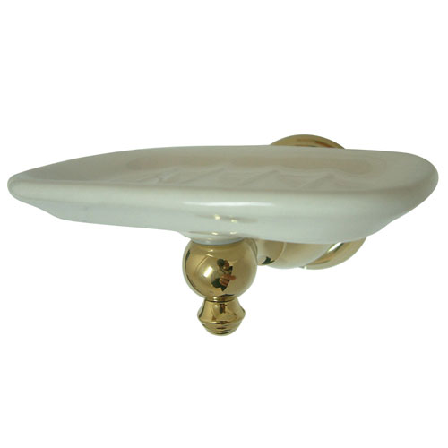 Kingston Brass Polished Brass English Vintage Wall Mounted Soap Dish BA7975PB
