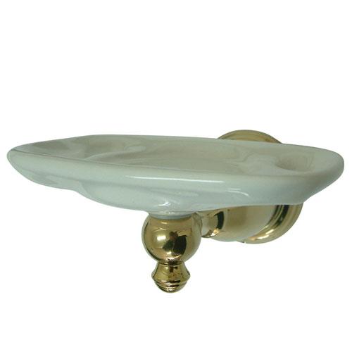 Kingston Polished Brass English Vintage Toothbrush & tumbler holder BA7976PB