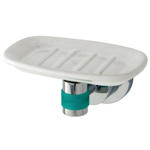 Kingston Brass Green Eden Chrome Bathroom Accessory: Soap Dish BA8215CDGL