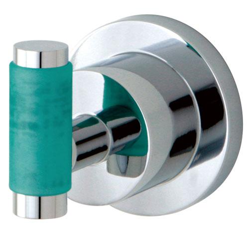 Kingston Brass Green Eden Chrome Bathroom Accessory: Robe Hook BA8217CDGL